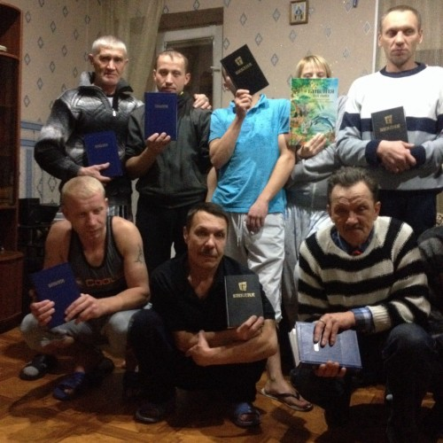 Page 4 Bibles for Rehabilitation Center - Tvoi Put in Novosibirsk